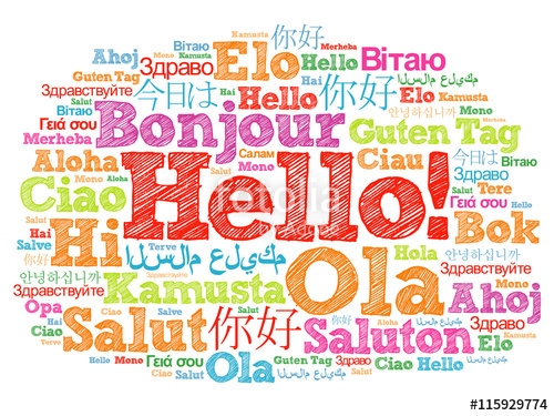 welcome in languages